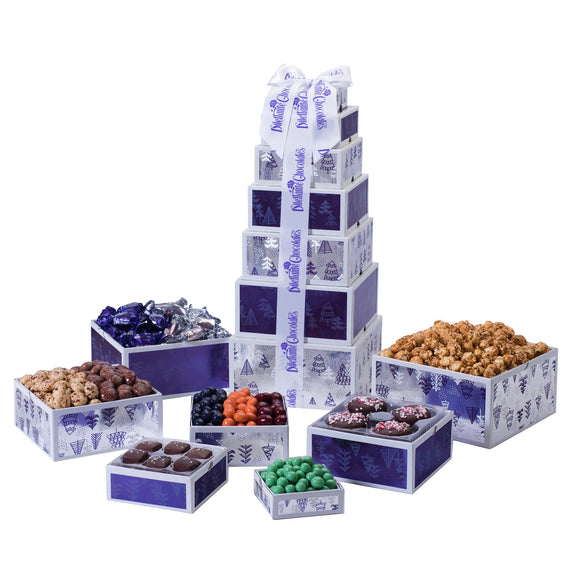 Dilettante Chocolates The Gift of Chocolate Tower