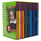 The Complete Collection of Shakespeare Children's Stories: 20 Book Box Set with Audio