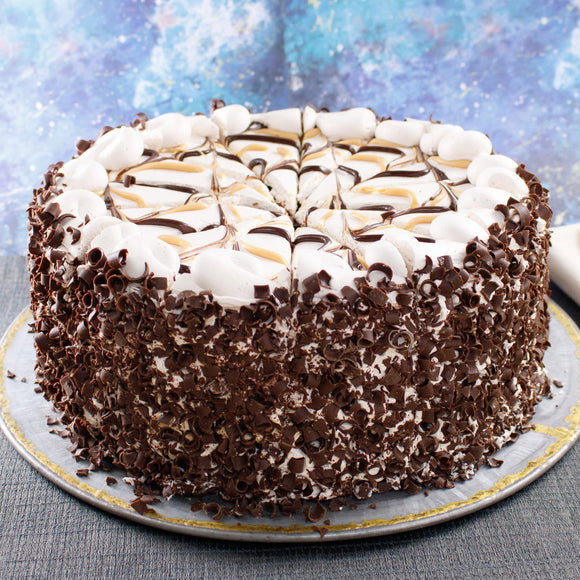 David's Cookies Milky Caramel Galaxy Cake, 10""