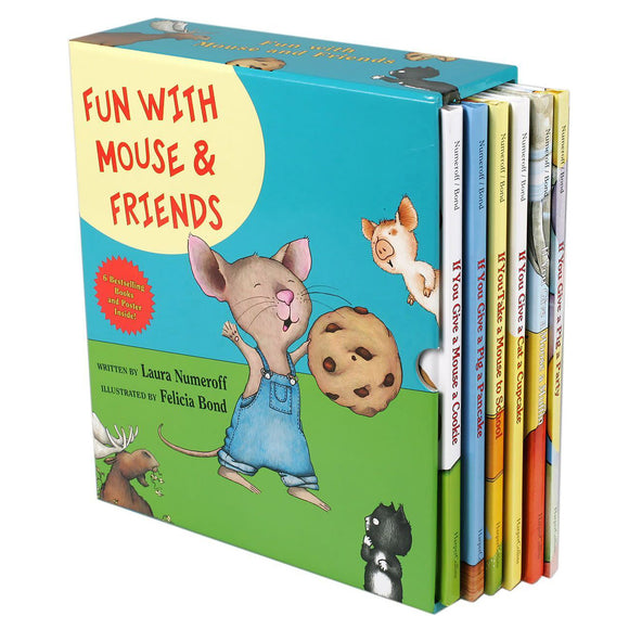 Fun With Mouse & Friends: 6 Picture Book Box Set