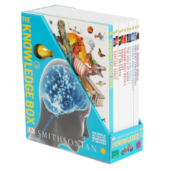 Smithsonian Knowledge: 10 Book Box Set with Flash Drive