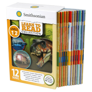 Smithsonian Learn to Read Collection Levels 1-2: 12 Book Box Set