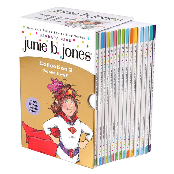 Junie B. Jones Collection 2: 15-28 Book Box Set by Barbara Park