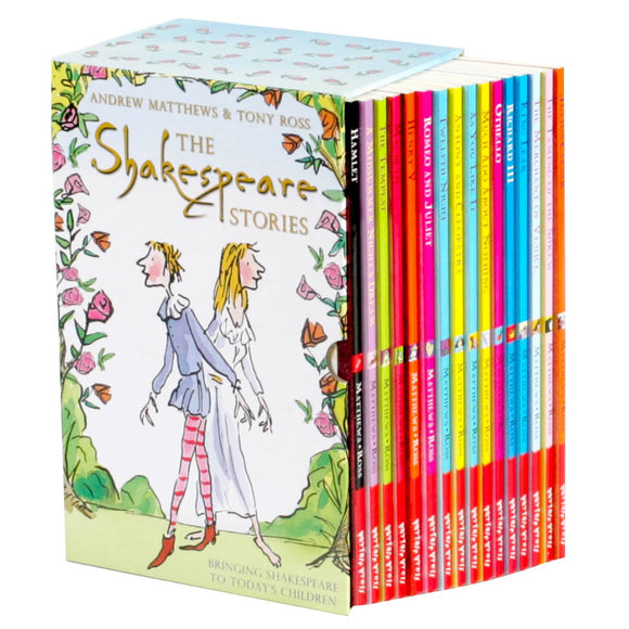The Shakespeare Stories: 16 Book Box SetThe Shakespeare Stories: 16 Book Box Set