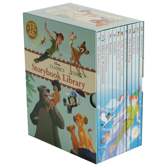 Disney Classic Storybook Library: 12 Book Box Set
