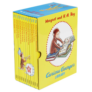 Curious George's Library: 12 Book Box Set by Margret and H.A. Rey