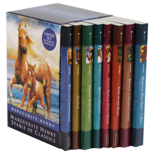 Stable of Classics: 8 Book Box Set by Marguerite Henry