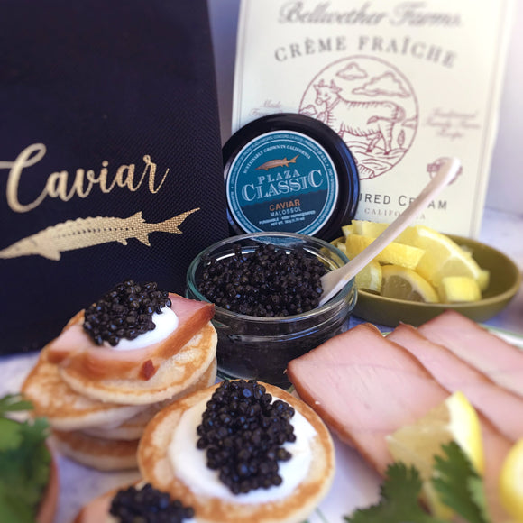 Plaza Classic Smoked Fish & Caviar Gift Set