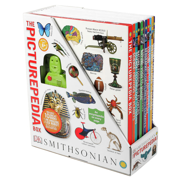 The Smithsonian Picturepedia Box: 10 Book Box Set