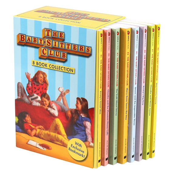 Babysitters Club: 8 Book Box Set