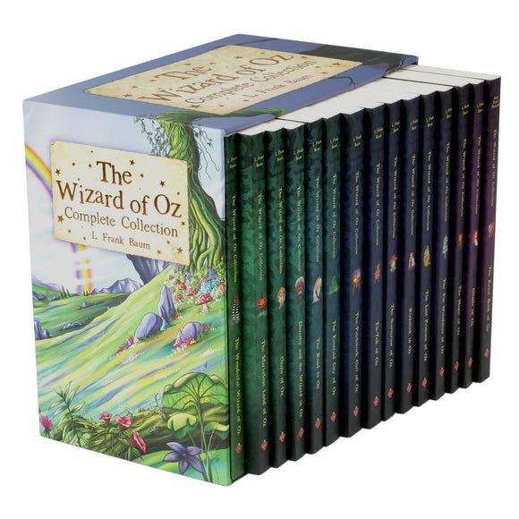 The Wizard of Oz Complete Collection: 15 Book Box Set by L. Frank Baum