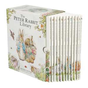 The Peter Rabbit Library: 12 Book Box Set