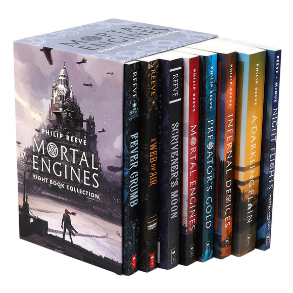 Mortal Engines: 8 Book Box Set