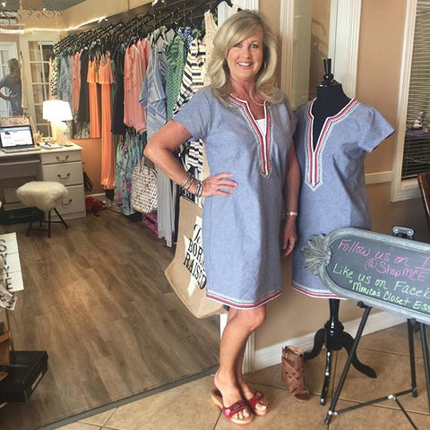 Bree Chambray Dress