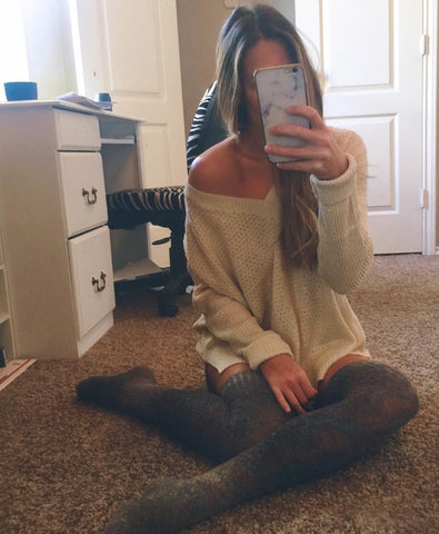 Lush V Neck Sweater