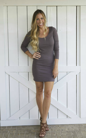 Basic Bodycon- Dark Mocha