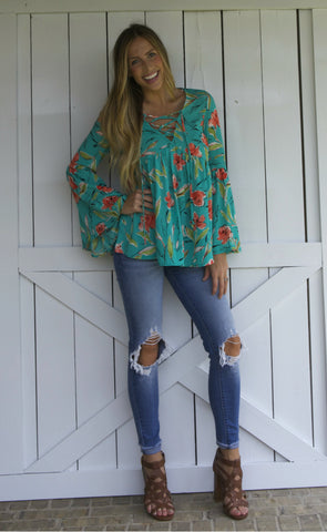 On Vacay Blouse