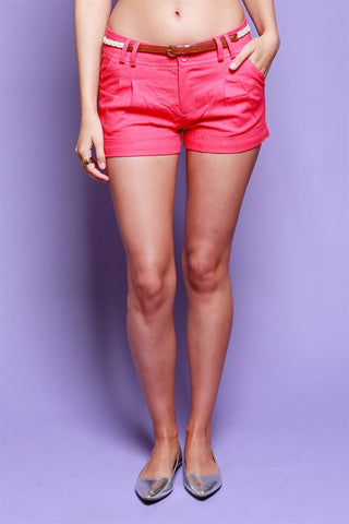 Staple Summer Shorts - New Rose