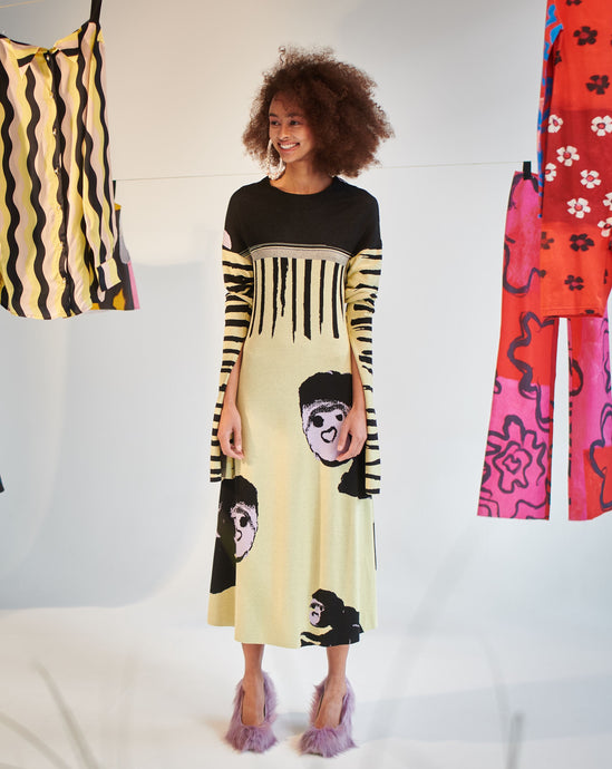 Shop Tereza Rosalie Kladosova MONKEY DRESS