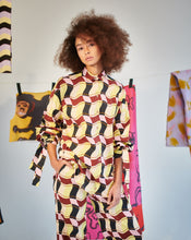 Load image into Gallery viewer, Shop Tereza Rosalie Kladosova CHECK OVERSIZE SHIRT
