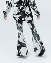 Load image into Gallery viewer, PONNY BELL TROUSERS, black marble