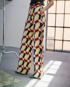 Shop Tereza Rosalie Kladosova CHECK PANTS