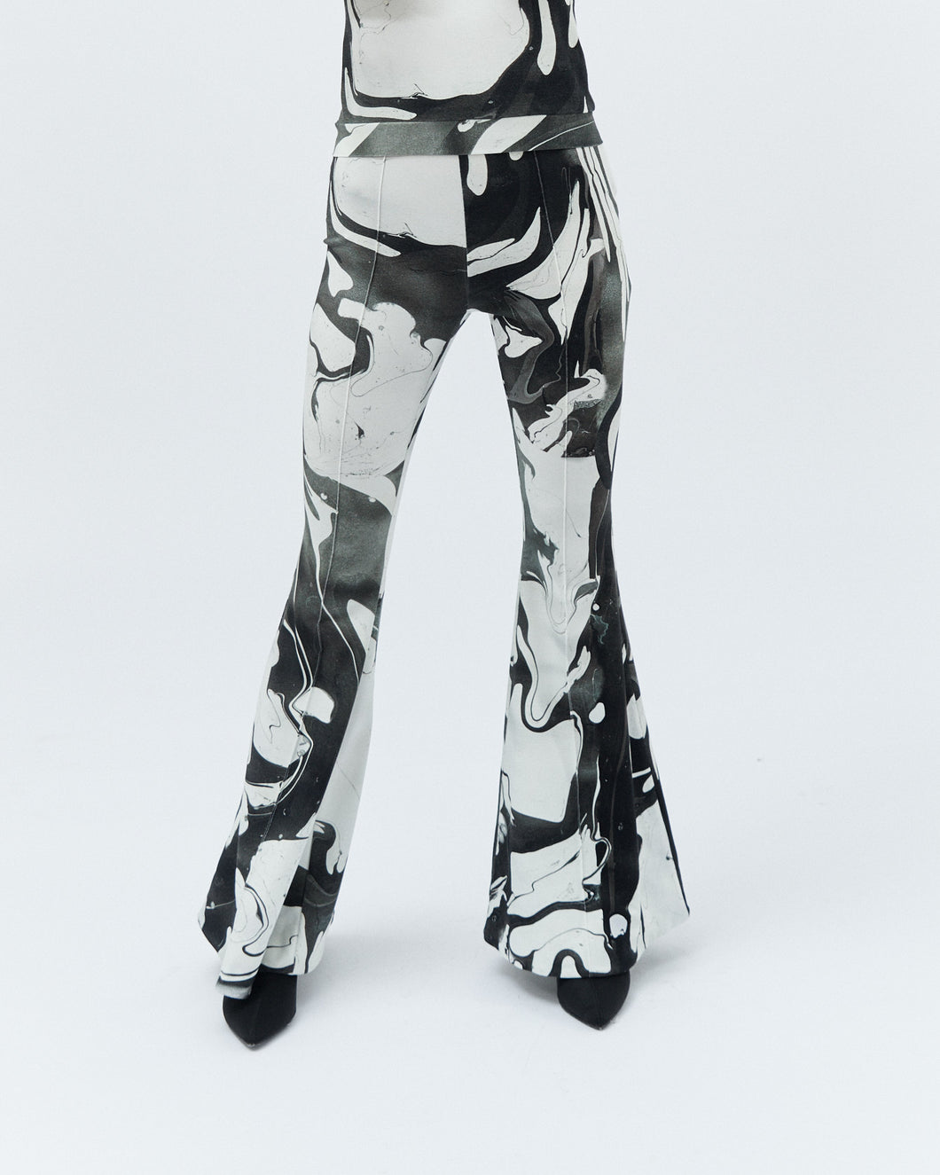 PONNY BELL TROUSERS, black marble