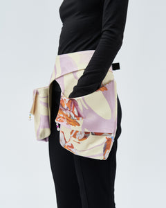MATYLDA POCKET DOUBLE, marshmallow flowers