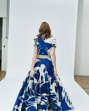 Load image into Gallery viewer, OCEAN WRAP SKIRT - rent