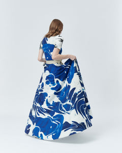 OCEAN SET, body and wrap skirt - rent