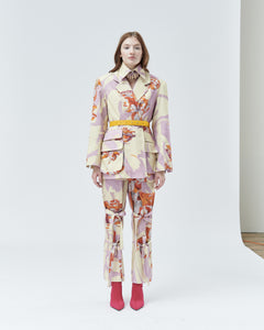 ROSALIA TAILORED JACKET, marshmallow