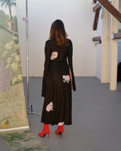 Load image into Gallery viewer, MONKEY KNITTED DRESS black