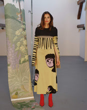 Load image into Gallery viewer, MONKEY LONG KNITTED BLACK DRESS TRK COS