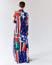 Load image into Gallery viewer, PATCHWORK LONG DRESS TRK FUN