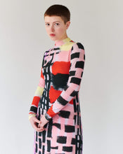 Load image into Gallery viewer, PATCHWORK LILA LONG DRESS TRK FUN COLLECTION