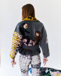 BIKER JACKET  - MONKEY FAMILY