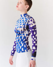 Load image into Gallery viewer, TOP BLUE, long sleeve TRK FUN COLLOECTION