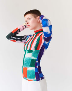 TOP PATCHWORK, long sleeve TRK FUN COLLECTION