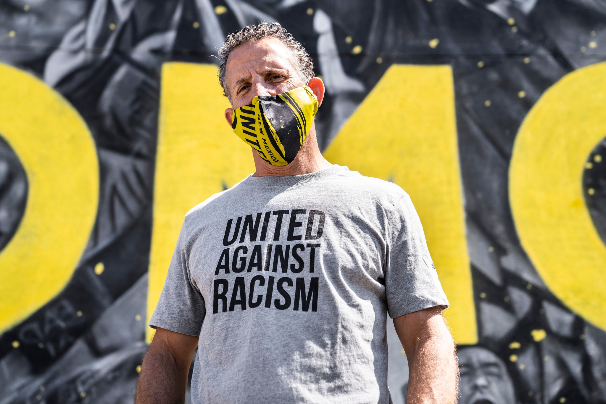 New Mexico United Puma Against Racism Tee - Gray