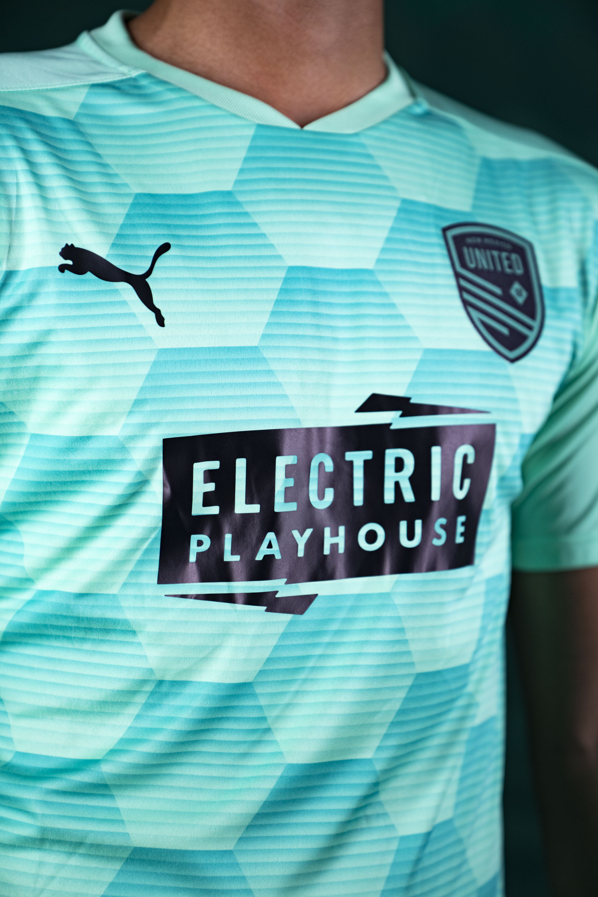 New Mexico United Youth Puma 2021 Electric Playhouse Third Jersey