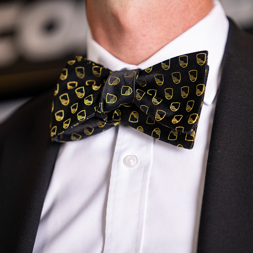 United Tie The Knot Bowtie - Black