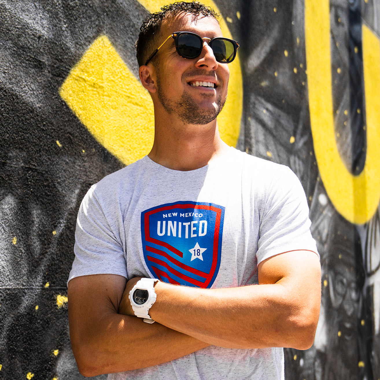 New Mexico United 2020 4th of July Tee - White