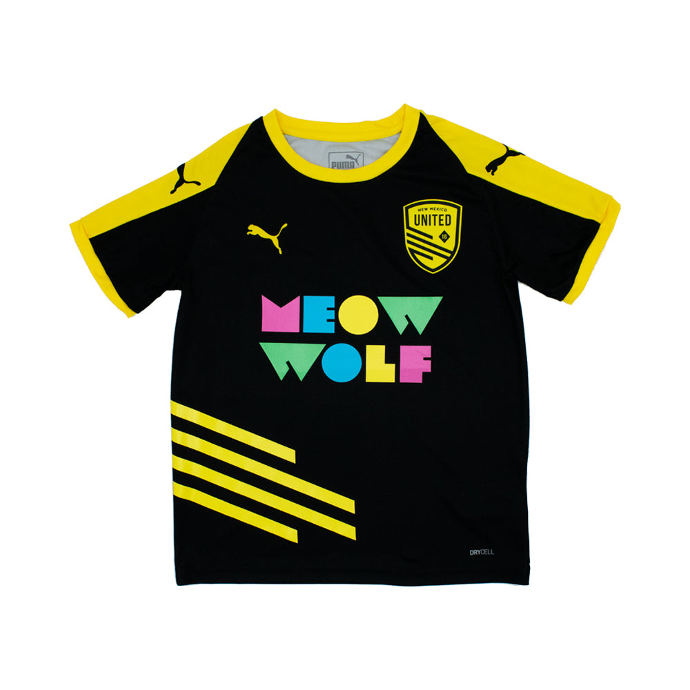 New Mexico United Youth Puma 2020 Meow Wolf Home Jersey