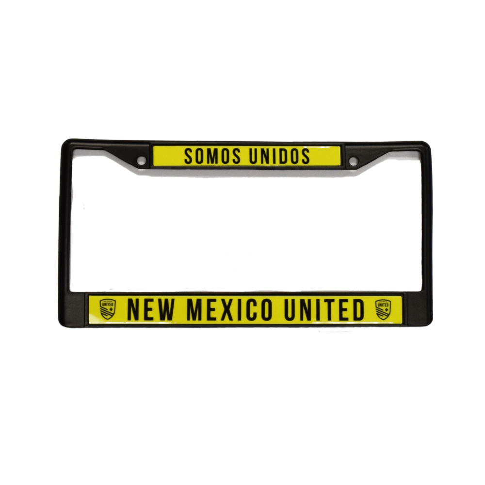 United Colored License Plate Frame