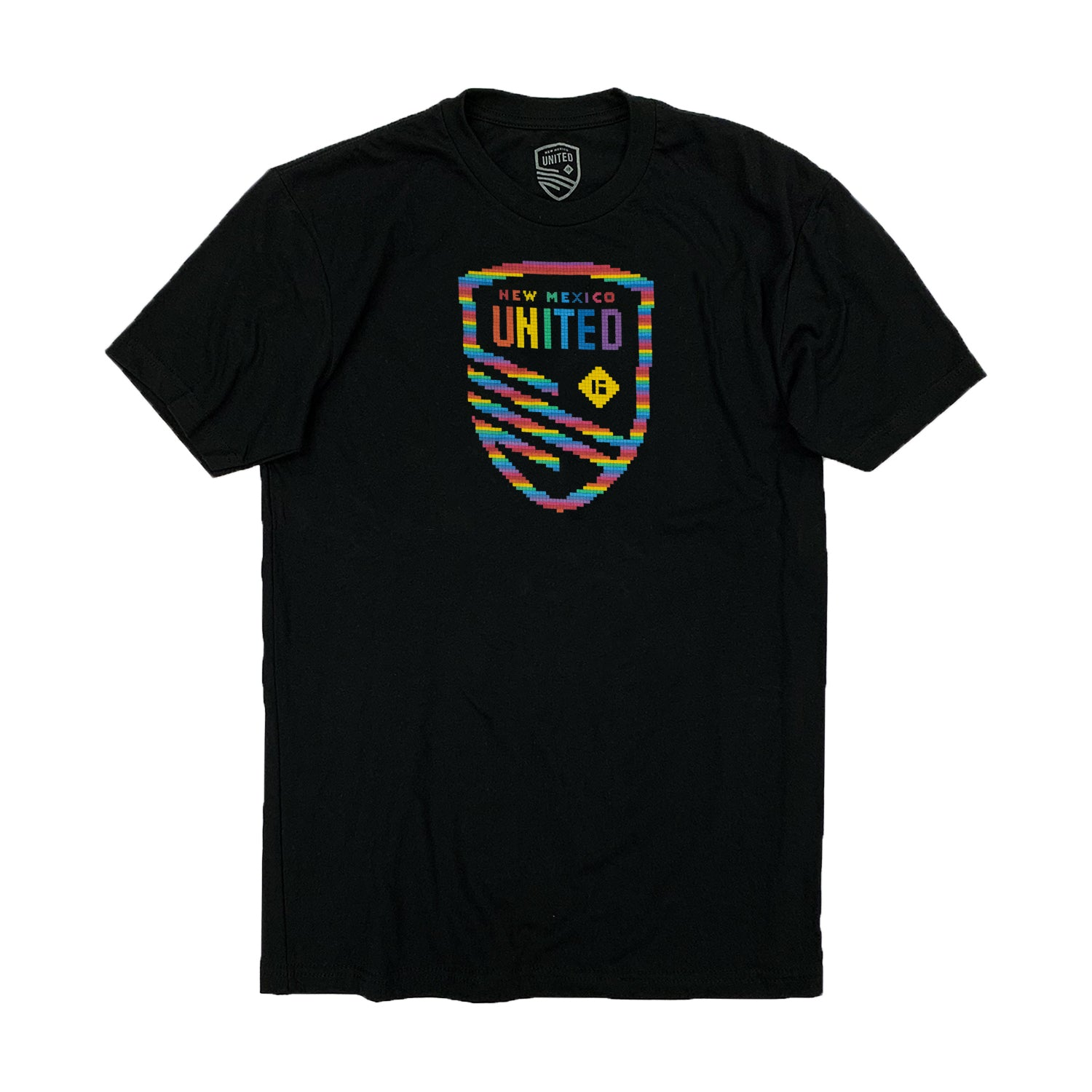 New Mexico United Mosaic Pride Tee - Black