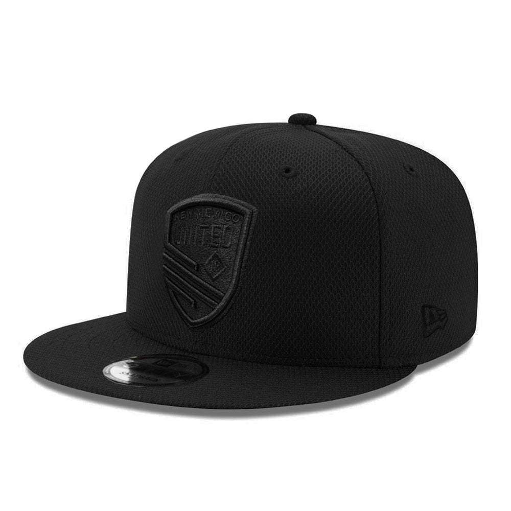 New Mexico United New Era Black on Black Shield Diamond Era 9FIFTY - Black