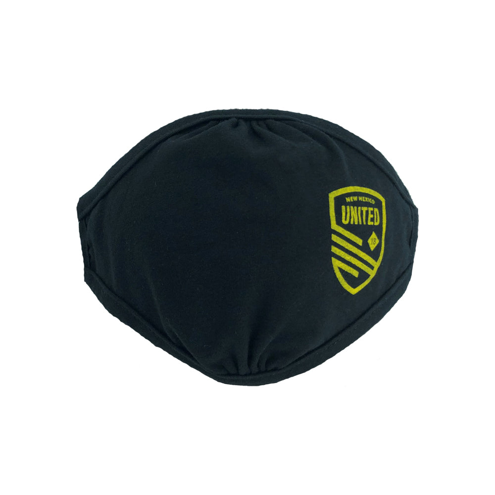 New Mexico United Cutout Shield Youth Face Covering