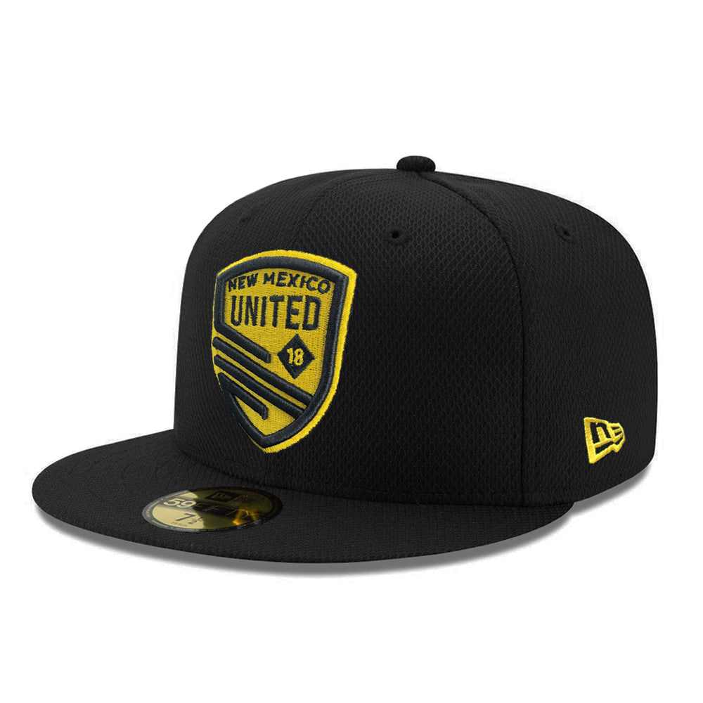 New Mexico United New Era Shield Diamond Era 59FIFTY - Black