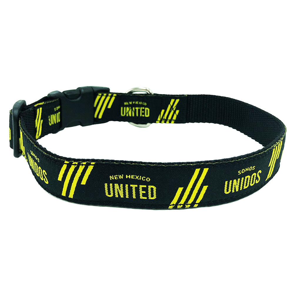 "New Mexico United Dog Collar 14""-20"" x 1"""