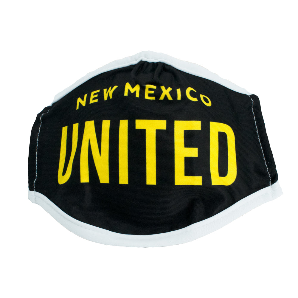 New Mexico United Wordmark Face Covering